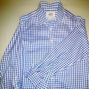 Charles Tyrwhitt Royal Blue & White dress shirt.